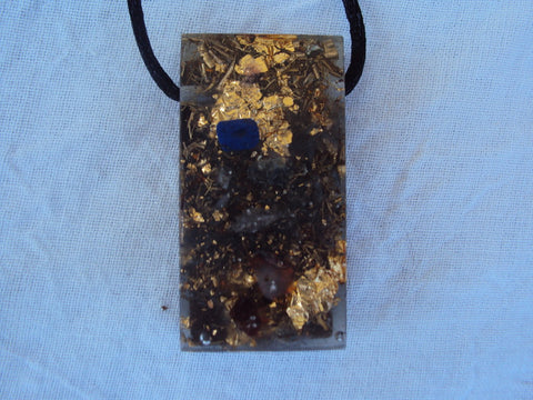 Chakra Harmonizer with shungite mix, Rectangular