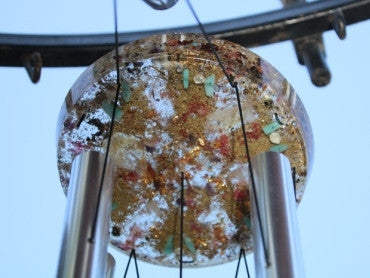 Medium Orgone tuned Wind Chime