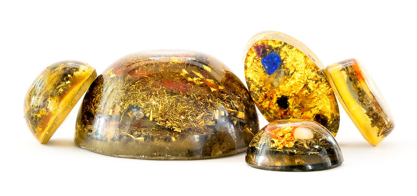 Lightstones orgone devices, orgonite