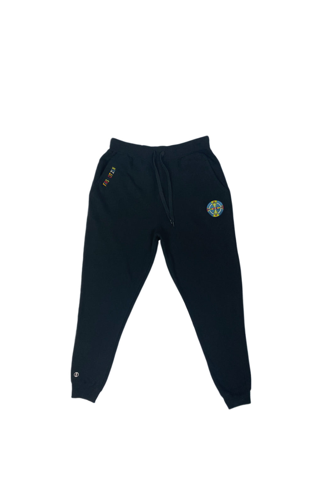 Geo Shield Jogger Sweatpants
