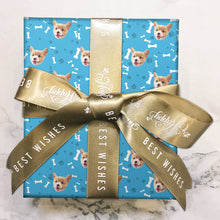 Custom Face Gift Wrap-Dog