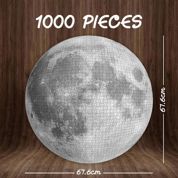 Custom Moon Jigsaw Puzzle Planet Puzzle 1000 pieces