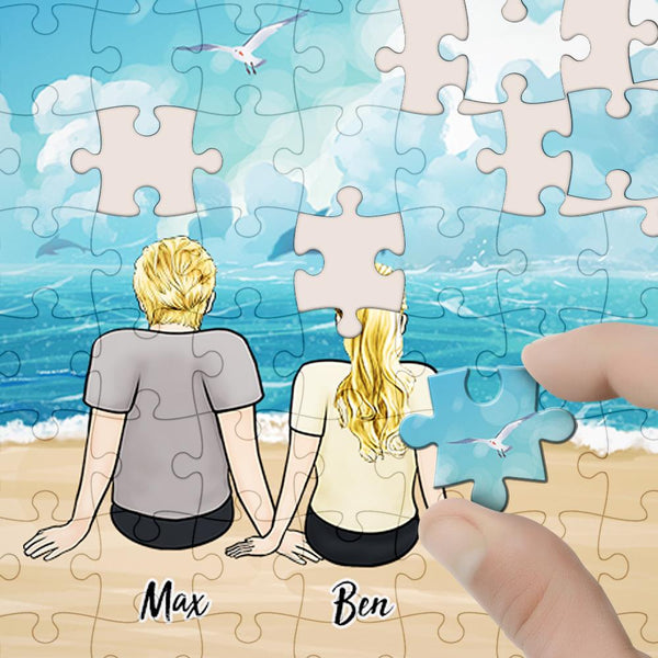 Custom Jigsaw Puzzle Best Father's Day Gifts