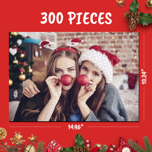 Custom Jigsaw Puzzle Best Gifts For Pet & Love & Family - 35-1000 pieces
