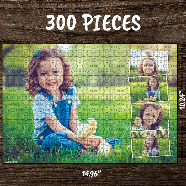 Custom Photo Jigsaw Puzzle Best Christmas Gifts For Family - 35-1000 pieces
