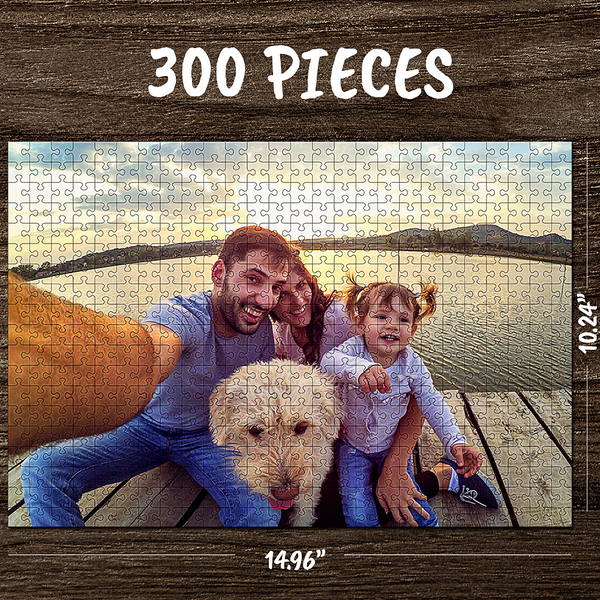 Custom Jigsaw Puzzle Mother's Day Gifts - 35-1000 pieces