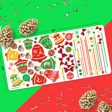 Custom Face Sticker Sheet - Merry Christmas Jingle Bells