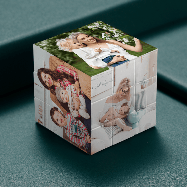 Custom Photo Rubik's Cube For Super Mother Multiphoto Cube