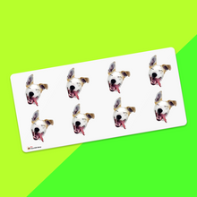 Custom Face Sticker Sheet Dog 1.6in.