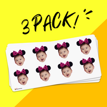 Custom Face Sticker Sheet Baby 1.6in.