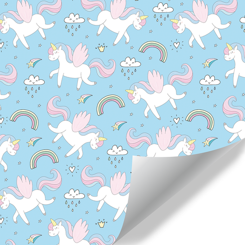 Gift Wrapping Paper-Unicorn