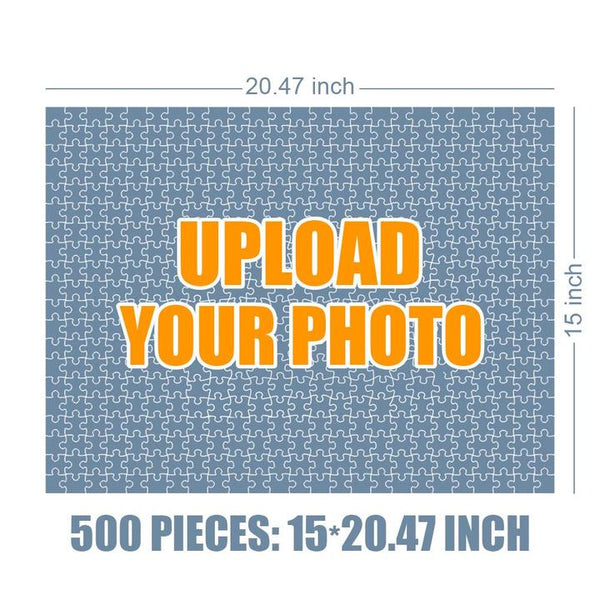 Custom Photo Jigsaw Puzzle Best Gifts For Dad - 35-1000 pieces