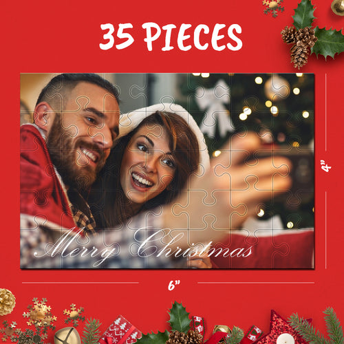 Custom Photo Jigsaw Puzzle Best Christmas Gifts For Love - 35-1000 pieces