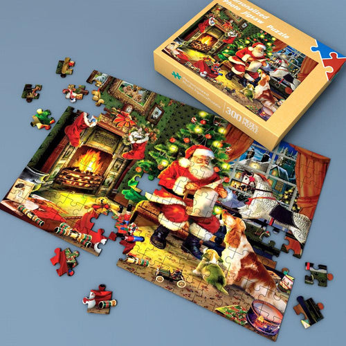 Christmas scene Jigsaw Puzzle 35-1000 Pieces