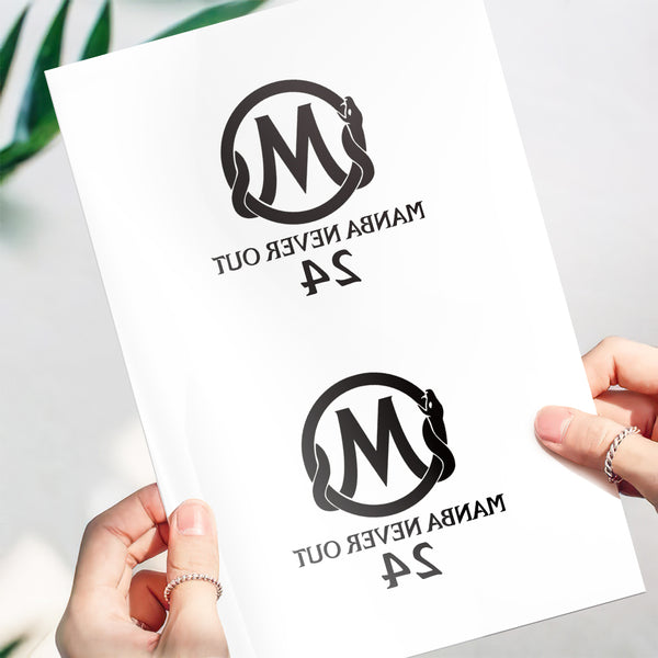 Temporary Tattoo Stickers-Manba Never Out Tattoo Stickers