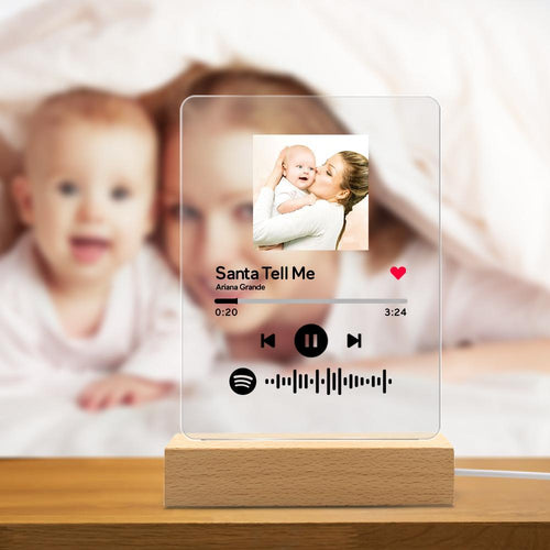 Custom Spotify Code Music Acrylic Glass Plaque - Spotify Set