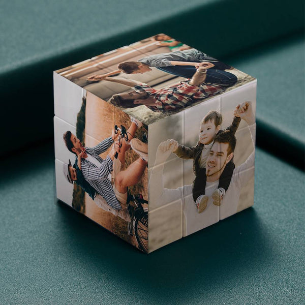 Custom Multi Photo Rubik's Cube - For Friends