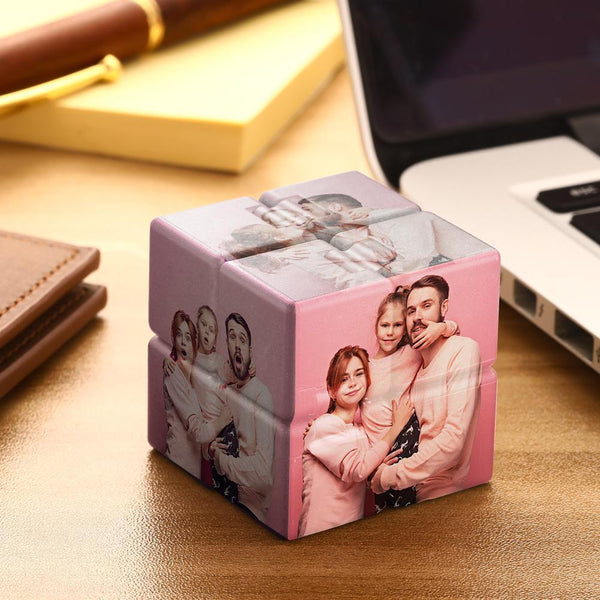 Personalized Photo Rubik's Cube For Family Infinite Cube