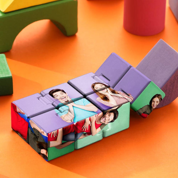 Custom Photo Rubik's Cube For Lover Multiphoto Colorful Infinite Cube