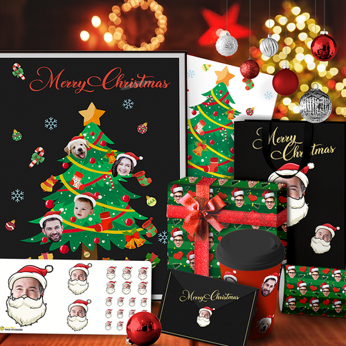 Custom Christmas Decoration Package - Merry Christmas