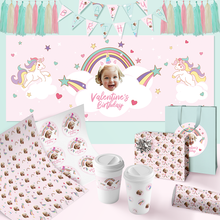 Custom Birthday Party Package-Rainbows & Unicorns