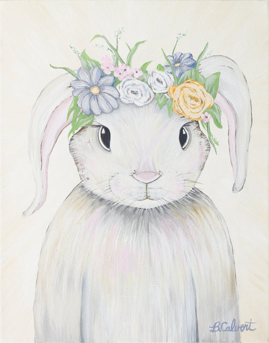 Art Print , Floppy Bunny, Home Decor