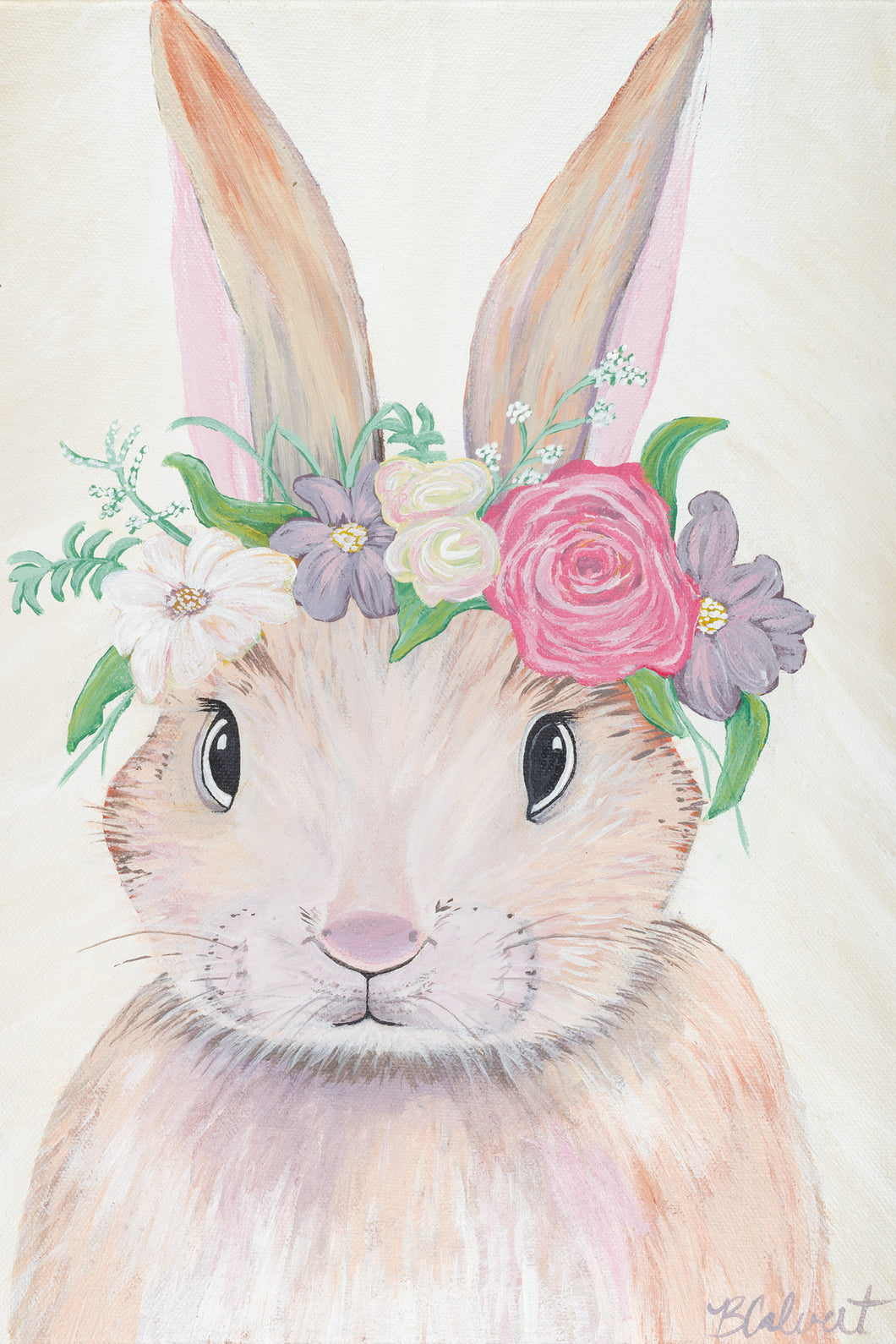 Spring bunny named