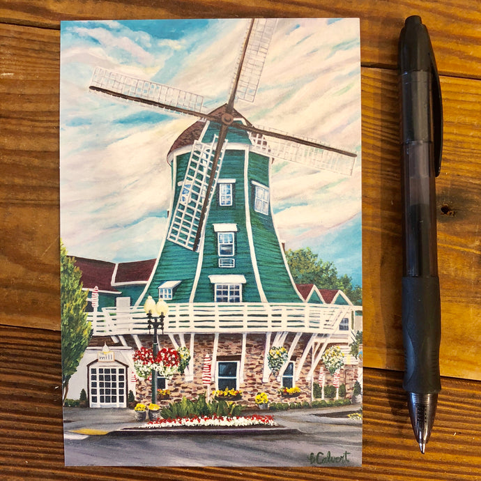 Post Card-Windmill