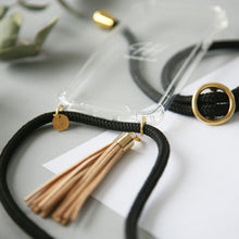 Load image into Gallery viewer, Phone necklace / black coffee