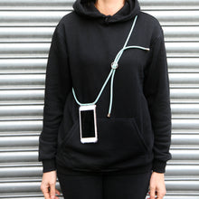 Load image into Gallery viewer, Phone necklace / fresh mint