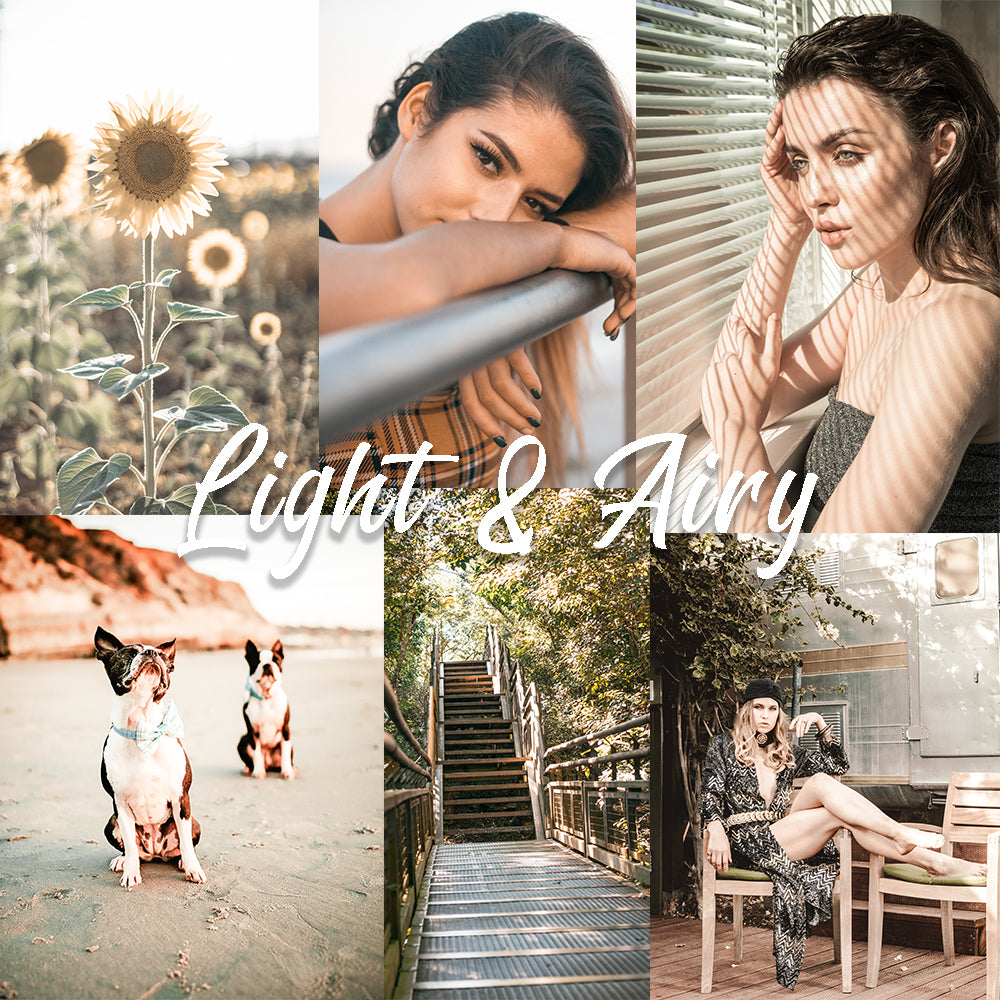 Light & Airy Preset Pack