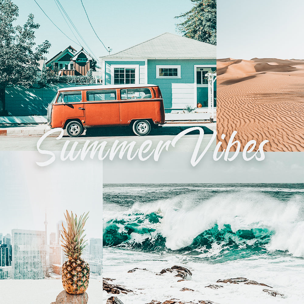 Summer Vibes Preset Pack