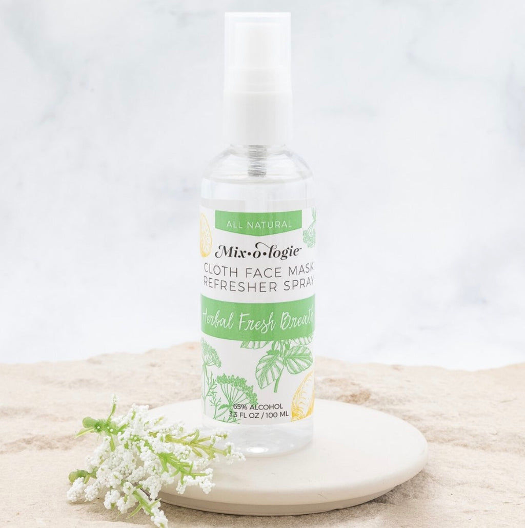 Cloth Face Mask Refresher Spray