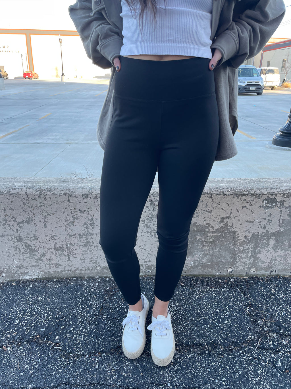 Premium High Waisted Ponte Pants