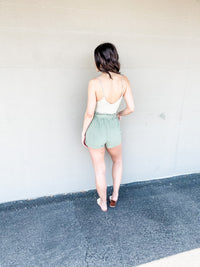 Disco Days Solid Cami - Pale Green