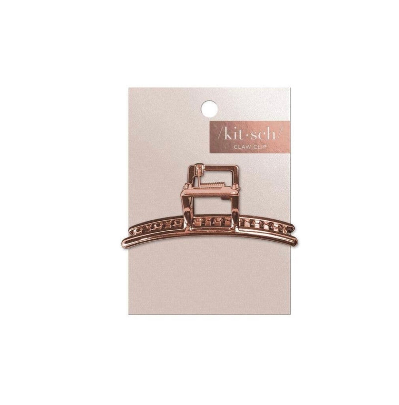 Rose Gold Bar Claw Clip