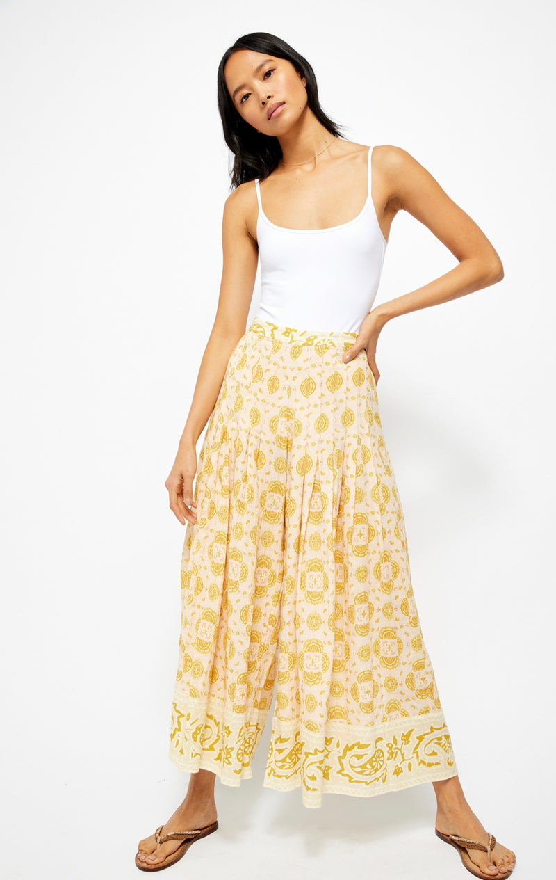 Run River Wide Leg Pants