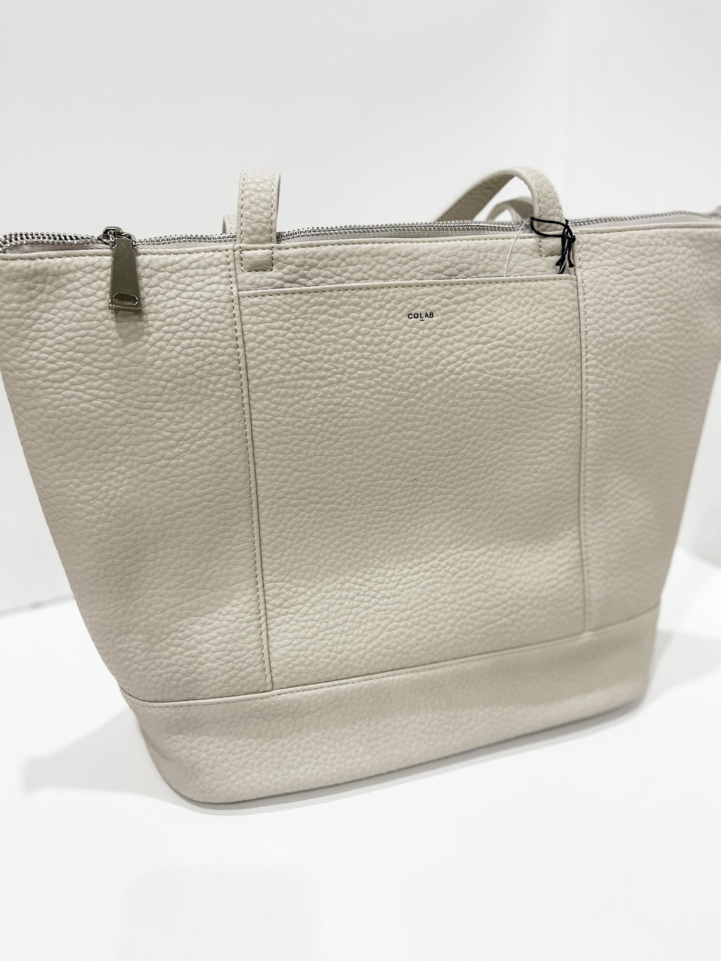 Everyone's Tote - Vegan Leather Bone