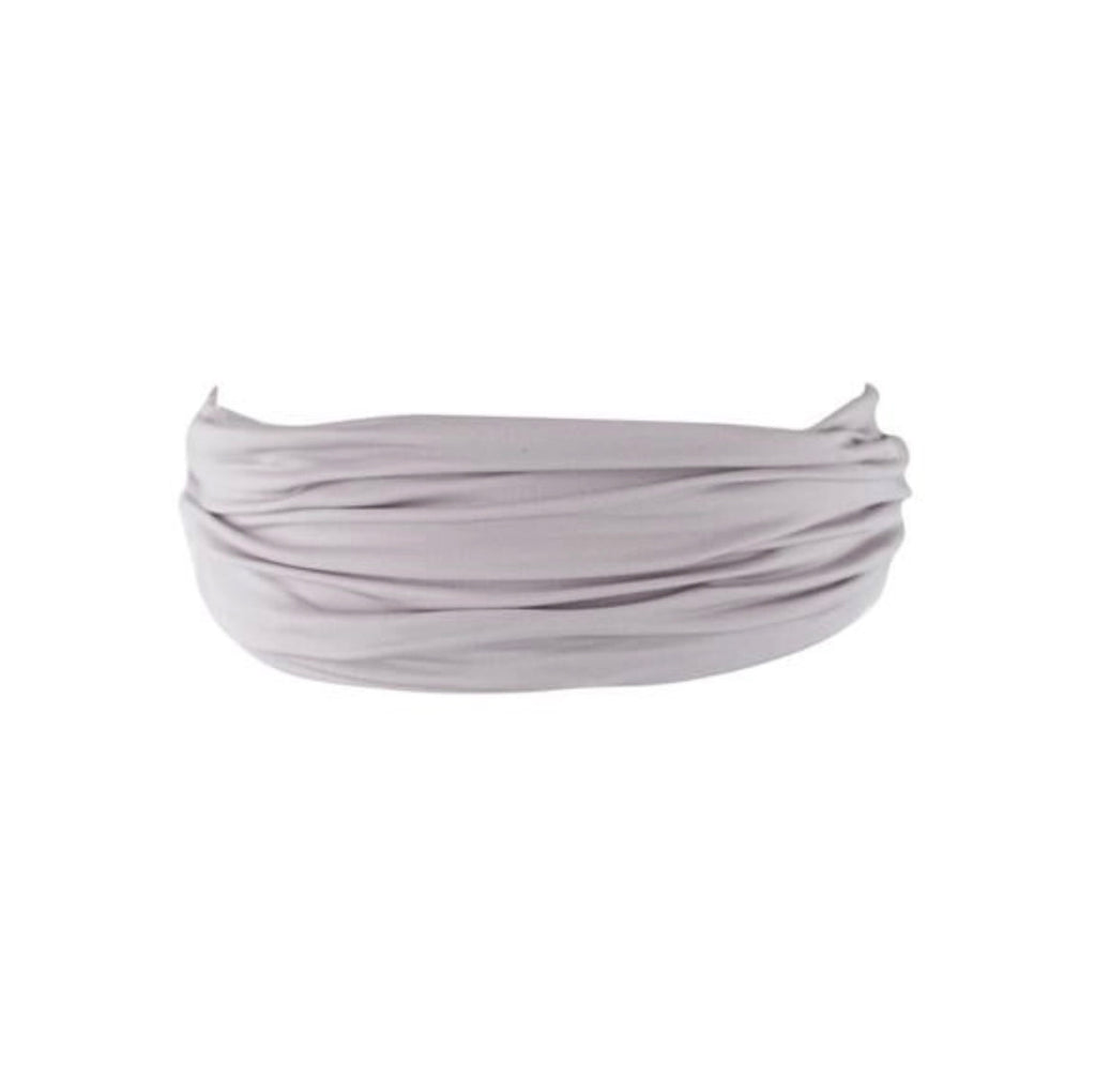 Grey Silky Stretchy Headband