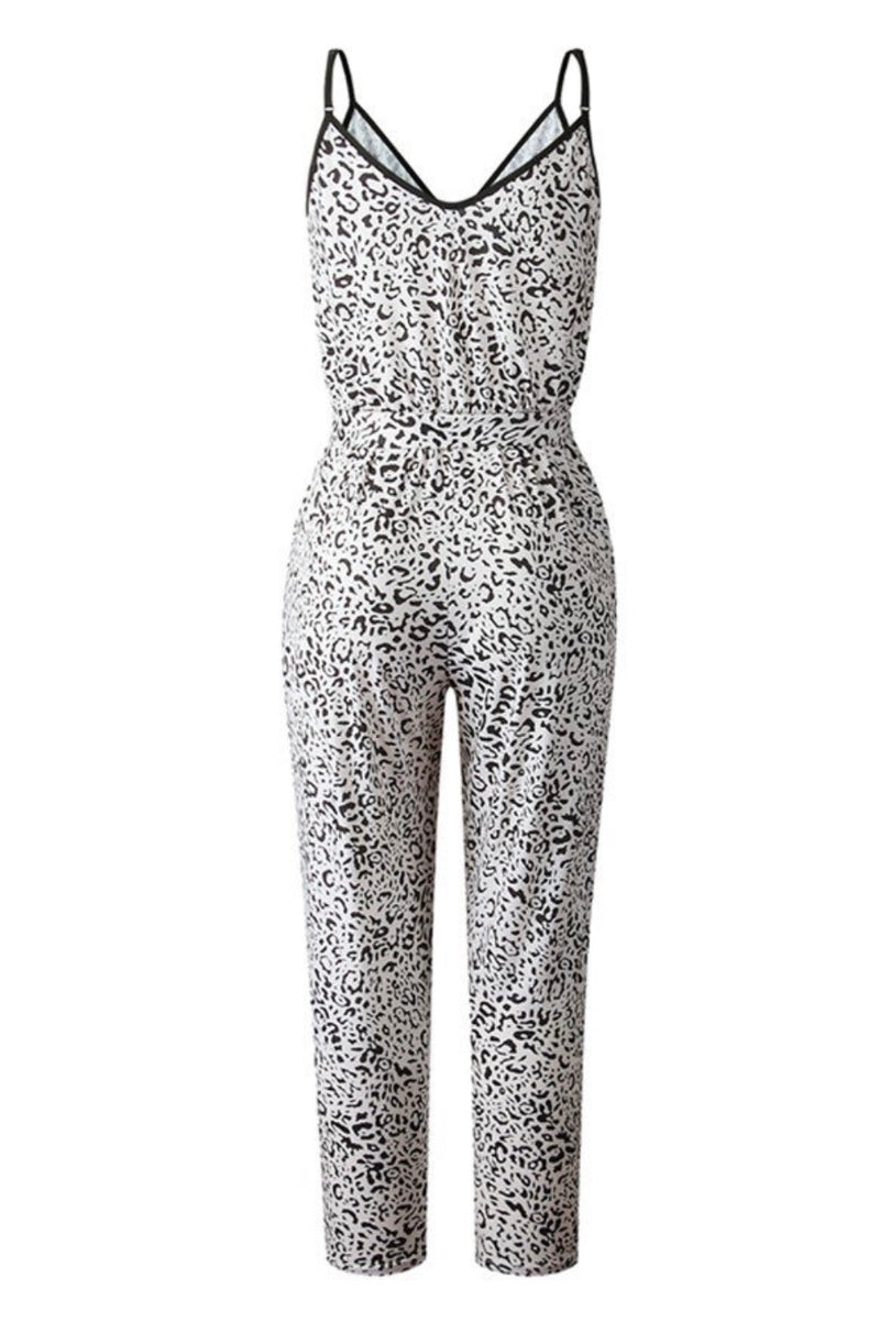 The Naeva Animal Print Jumpsuit