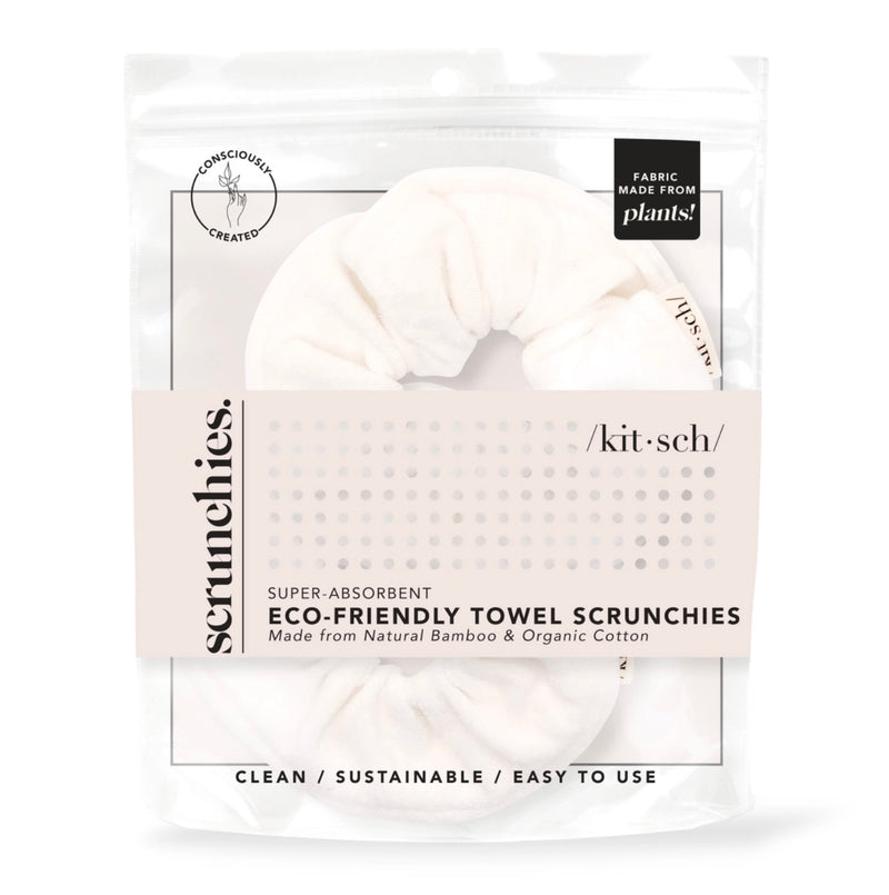 Eco-Friendly Micro-Fiber Towel Scrunchies