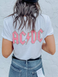 AC DC Graphic Tee