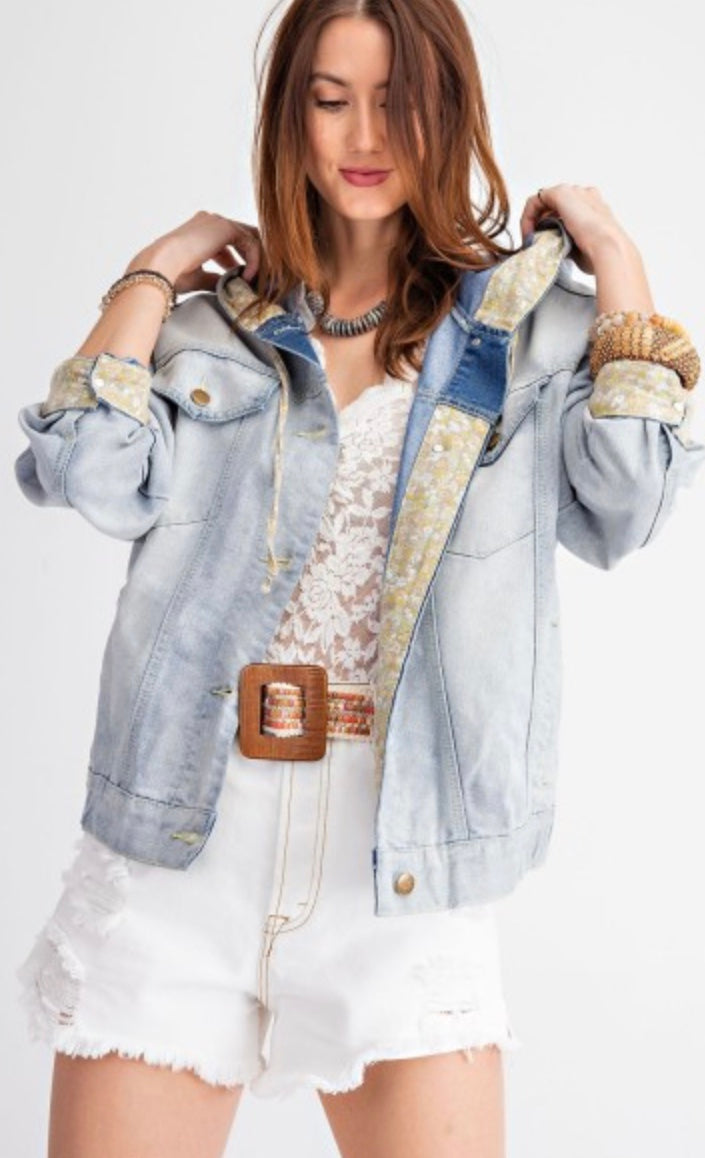 The Janey Slouchy Denim Jacket