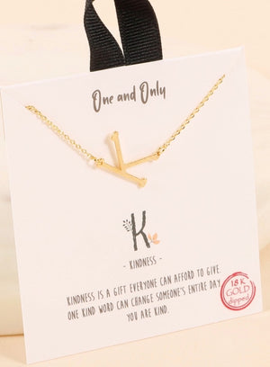 Choker Style Initial Necklaces