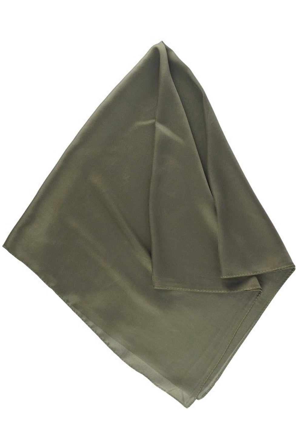 Solid Neckerchief in Olive