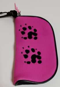 Eyeglass Holder Ferret Paw Print different colors