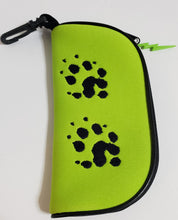Load image into Gallery viewer, Eyeglass Holder Ferret Paw Print different colors
