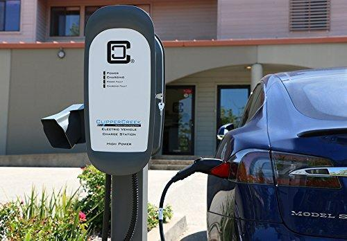 ClipperCreek HCS-40 (JuiceNet     Edition WiFi Enabled) EV Charging Station image 4809978347589