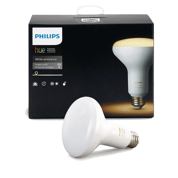 BR30 Philips Hue 8W Dimmable White Ambiance Indoor (Single)