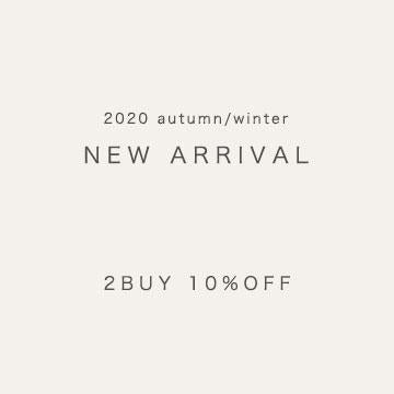 2BUY 10%OFF<br>【NEW ARRIVAL】2020 autumn/winter